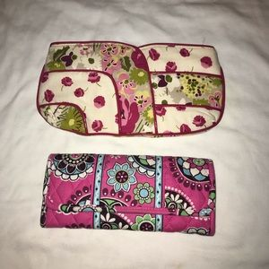 Vera Bradley wallet and clutch NWOT